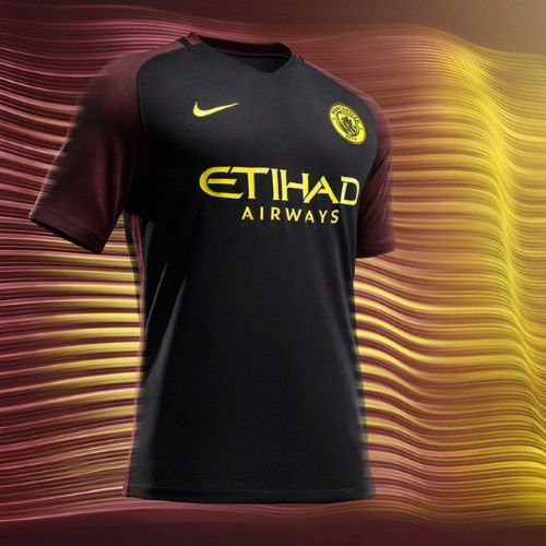 Manchester City presentó su nueva camiseta alternativa ...