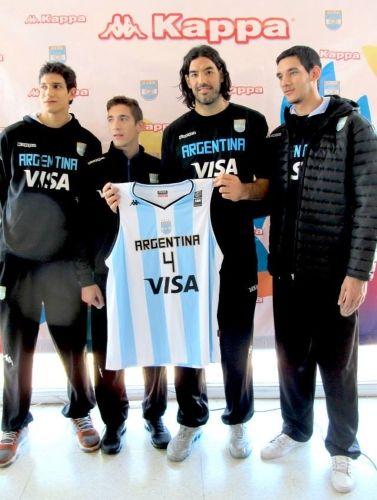 98e0ae22d9c78 La Selección argentina de básquet presentó su camiseta Kappa para ...