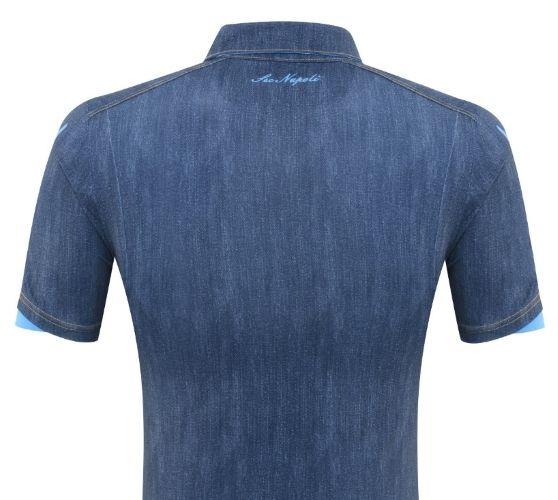 f9897b4d3c37f El Napoli sorprendió con su camiseta de jean