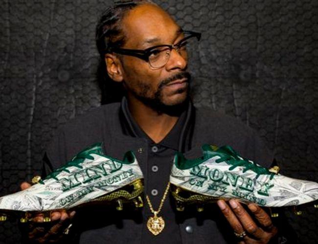 adidas y Snoop Dogg presentaron unos botines con diseño de