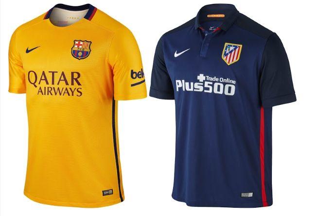 uniforme Atlético de Madrid deportivas