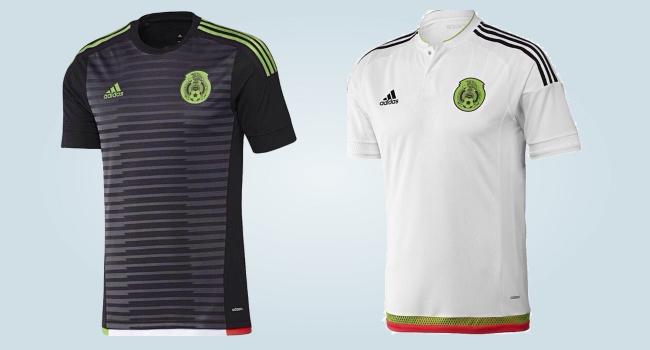 149b6ef4f0e07 adidas presentó las nuevas camisetas de México  la titular será negra