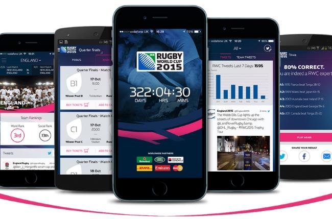 La Rugby World Cup 2015 tiene app oficial