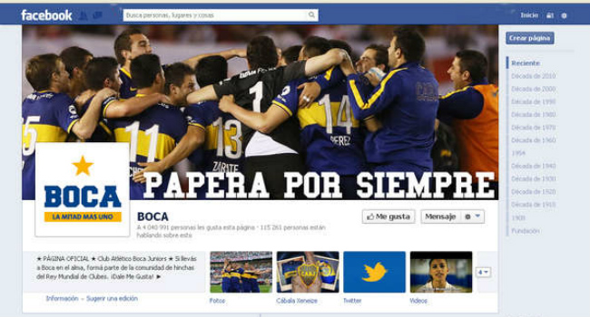 Boca gana también el Superclásico en la web