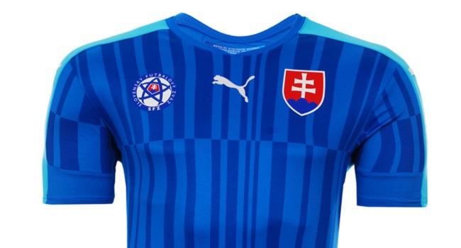 Nueva camiseta suplente Puma de Eslovaquia para la Euro 2016