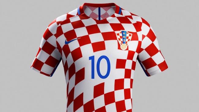 d0d2db4bbd5ac Nike exhibió la nueva camiseta de Croacia para la EURO
