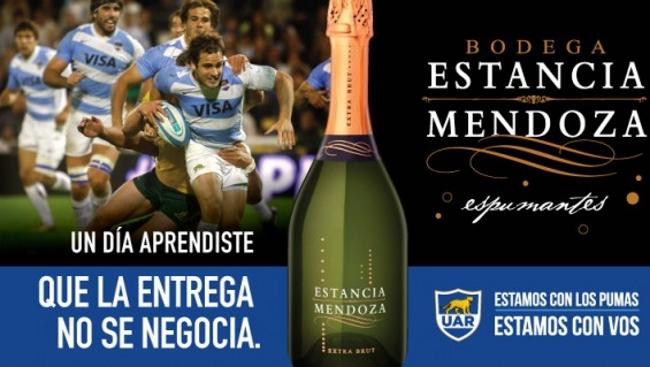 Bodega Estancia Mendoza Espumantes se une a Los Pumas