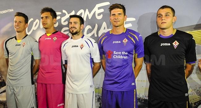 Camiseta Fiorentina modelos