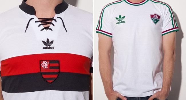 mejor sitio web b760a e6bb9 adidas lanzó una colección de camisetas retro de Flamengo y ...
