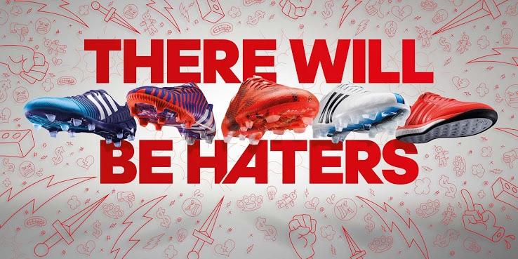 adidas lanza su campaña #therewillbeheathers y presenta su nueva línea de botines
