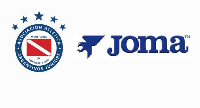 Nueva camiseta titular Joma de Argentinos Juniors