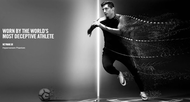 Lewandowski el reemplazo de Neymar para la nueva línea de Nike