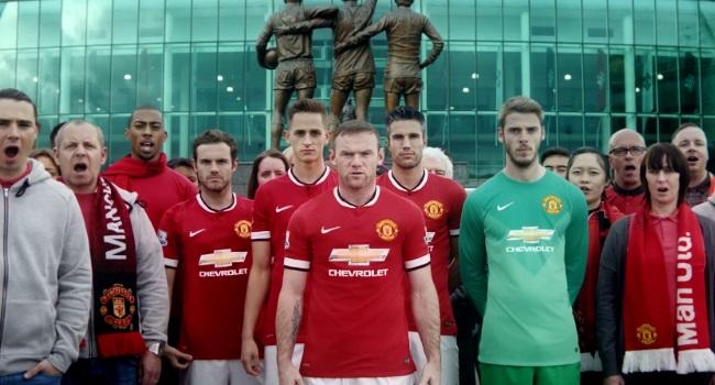 Manchester United y Chevrolet presentaron la nueva camiseta con un emotivo spot