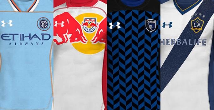 diseño distintivo Moda gran descuento Las camisetas de la MLS rediseñadas por Under Armour ...