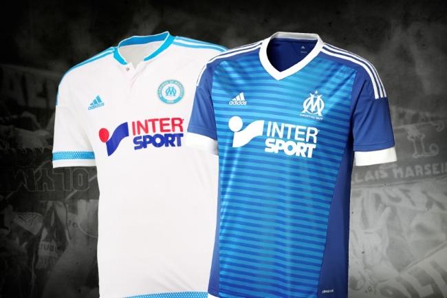 segunda equipacion Olympique de Marseille deportivas