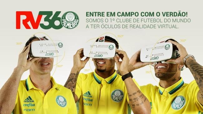 Palmeiras innova y lanza sus lentes de realidad virtual