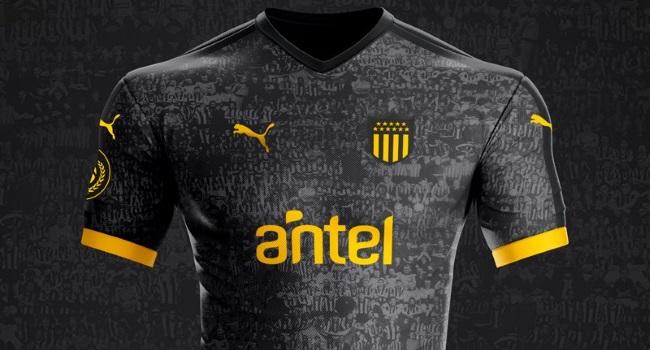 diseño novedoso buscar los Angeles Peñarol presentó su nueva camiseta edición especial