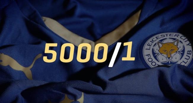 Así festejó Puma el título del Leicester City