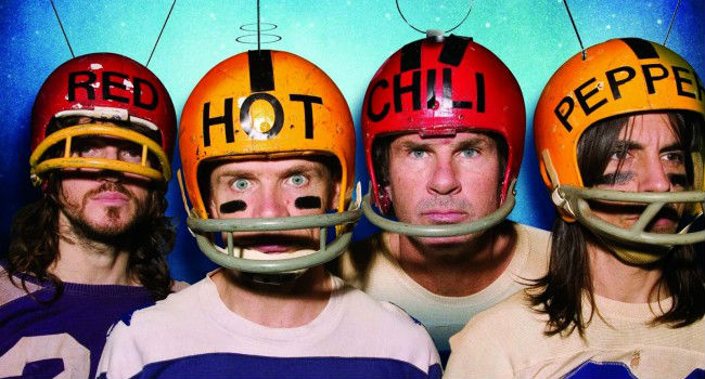 Los Red Hot Chili Peppers se preparan con todo para el Super Bowl