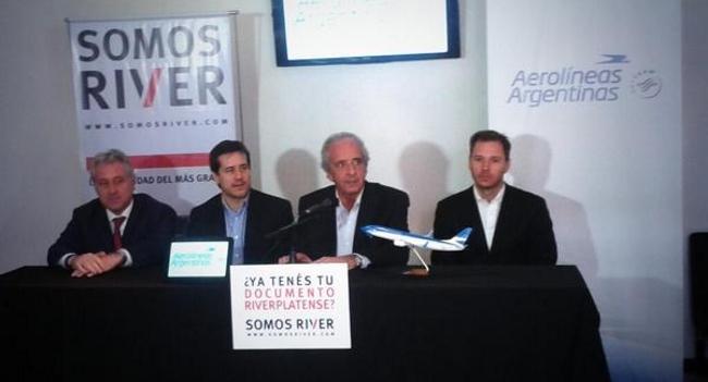 Alianza entre River Plate y Aerolíneas Argentinas