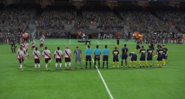 PES vs FIFA; así lucen los jugadores de River y Boca en ambos juegos