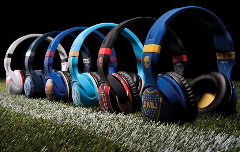 Skullcandy lanza los auriculares oficiales de Boca, River, Barcelona, Chelsea, AC Milan y Olympique de Marsella