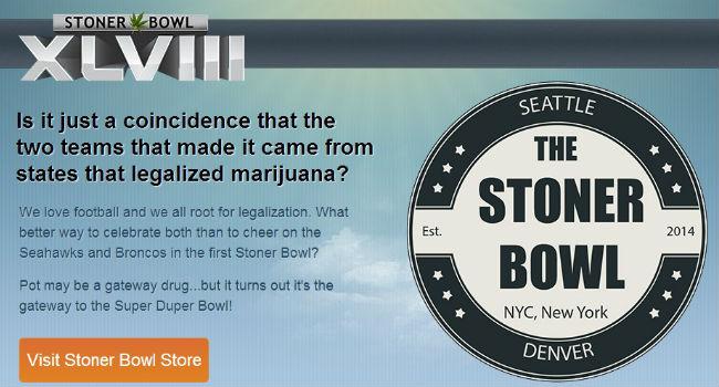 """""""The Stoner Bowl"""": el negocio de la coincidencia del Super Bowl, y la marihuana"""