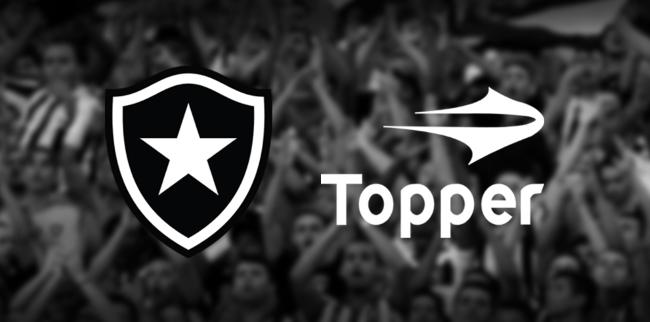 Botafogo vestirá Topper