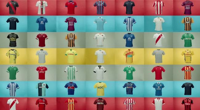 ¿De que color es el amor? El nuevo comercial de Umbro mostrando a todos los equipos que viste en el mundo
